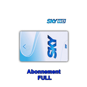 Abonnement Sky Italia HD Complet (Sky TV + Cinema + Calcio + Sport) 12 mois via Hotbird 13° E