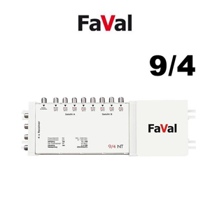 Multiswitch 9/4 NT Faval ou Golden interstar - 9 entrées / 4 sorties