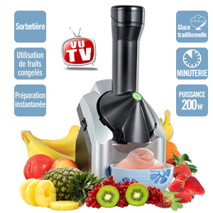 Sorbetière - Machine à glace Mix 200W