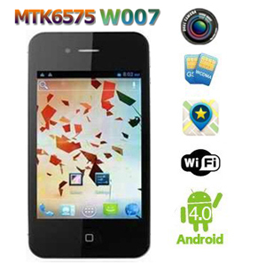 Smartphone iAndroid 4S MTK 6575 Android 4.0 Double SIM - GPS - WIFI - 3G
