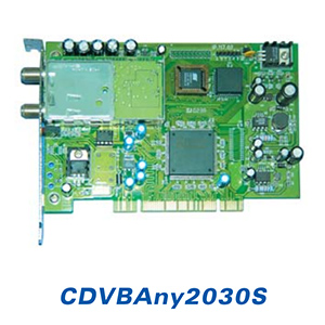 Carte DVB PC Satellite / Data multimédia - Interface PCI - CDVBAny2030S