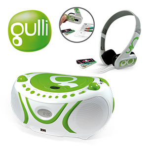 Radio CD-MP3 + Casque audio GULLI - Metronic